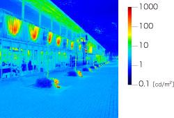 輝度分布画像とクオリアイメージ   光環境評価システム QUAPIX ...
