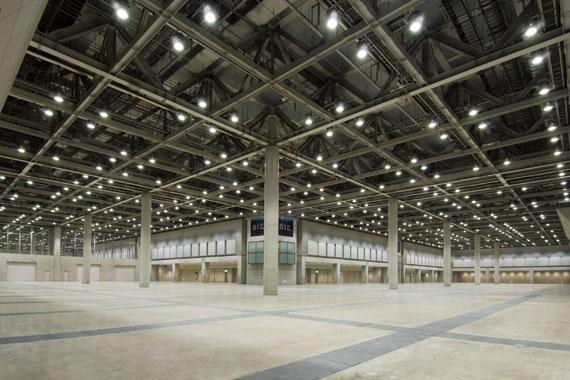 東京ビッグサイト西展示ホール ... : 日本の湾 : 日本