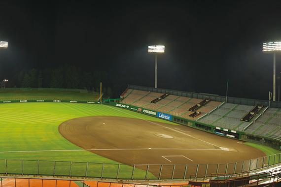 花咲スポーツ公園硬式野球場(スタルヒン球場)