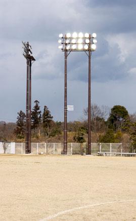 三重県営鈴鹿スポーツガーデン | スポーツ施設照明 グラウンド | 納入事例 | 岩崎電気